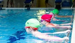 LTS Swimmers have fun at the First Learn to Swim Acorns Gala