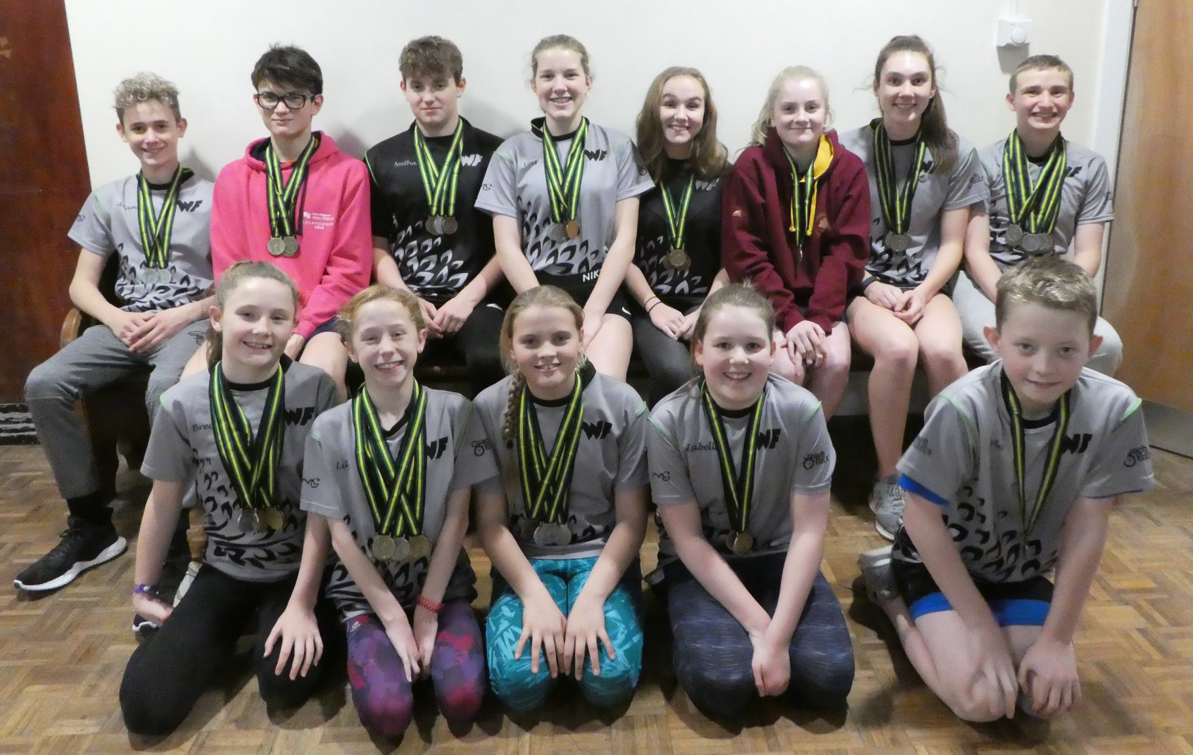 GLOUCESTER LEVEL 2 OPEN MEET – 85 Medals & 2nd Place!!