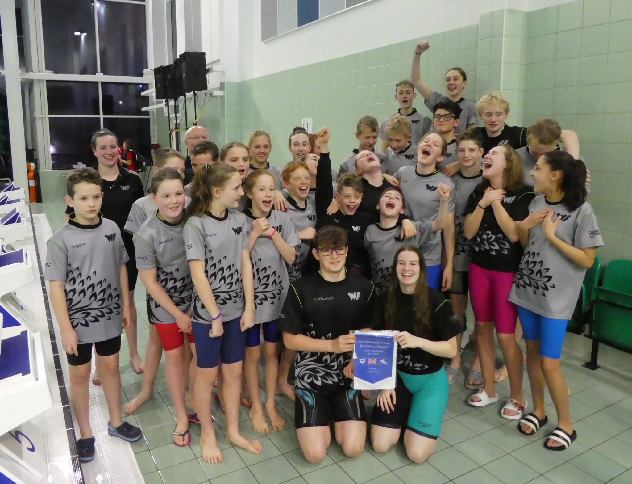 WYRE FOREST SWIMMING CLUB ARENA LEAGUE CHAMPIONS!!