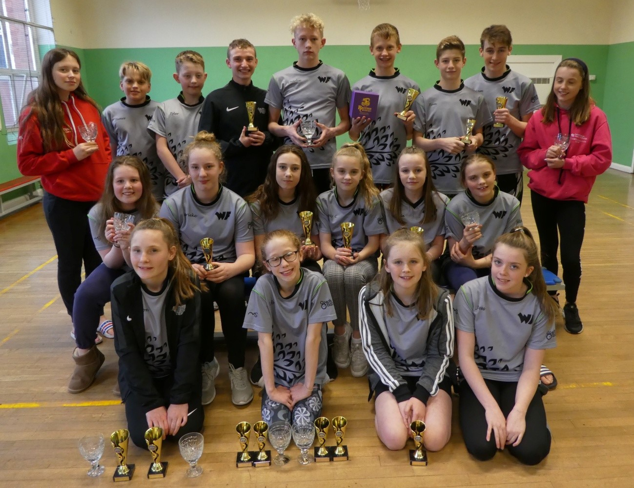 WYRE FOREST SWIMMING CLUB AWARDED TOP VISITING CLUB AT CRYSTAL OPEN MEET