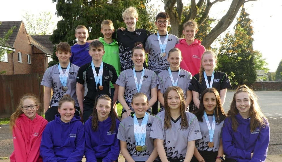 WYRE FOREST SWIMMING CLUB PRODUCE OUTSTANDING RESULTS AT REGIONALS 2019