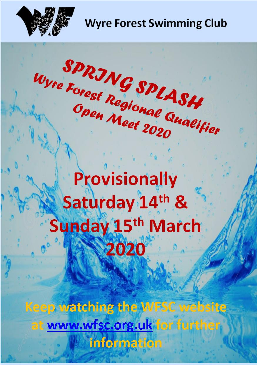 HOLD THE DATE! WFSC SPRING MEET Provisionally – 14th & 15th MARCH 2020