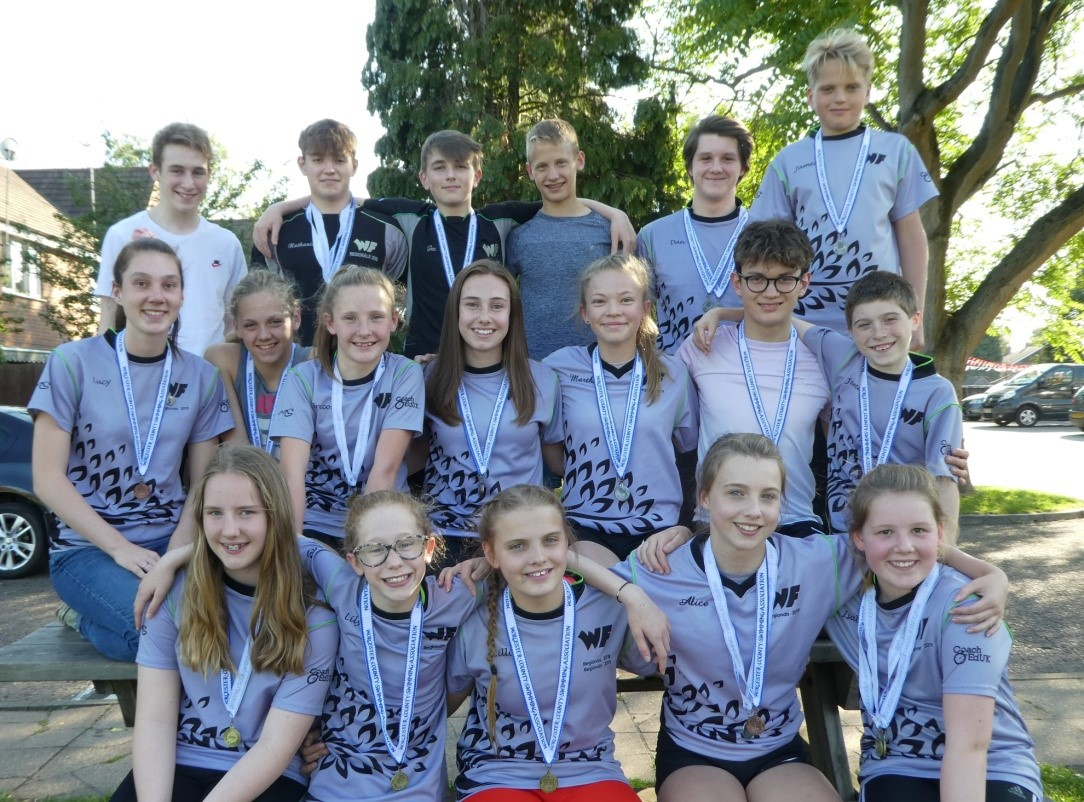 WFSC TEAM SPIRIT SHINES AT COUNTY RELAY CHAMPIONSHIPS